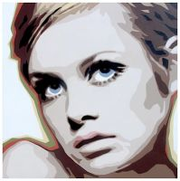Twiggy by garybonner