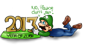 End of the year of Luigi (?) by Fanny-CM