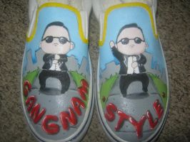gangnam style shoes by devpose