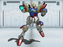 MMD Find - Shining Gundam by Zeltrax987