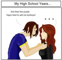 My High School Years.... by Queen-Of-Cute
