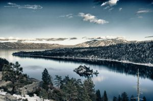 Emerald Bay Winter by KickStart011