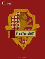 HP Cards- Gryffindor crest by Hyuknice