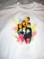 AKB48 T-Shirt - Rainbow Top 8 by yic