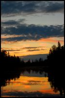 Suomi Sunset by IllusionCrash