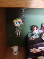 Link PaperChild spy in my room by Pachaluche