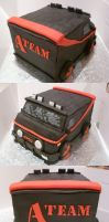 The A Team Van Cake by Rebeckington