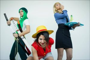 One piece cosplay gender - power of 3 by MarmeladePro