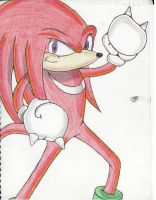 Knuckles by SonicCrazyGal