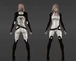 Lightning ME Render [Back / Front] by IshikaHiruma