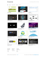 Website: Creatively by digitalsoft