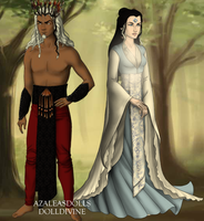 Raava and Vaatu Lord Of The Rings Game by LoveOrMadness