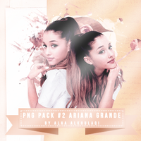PNG Pack #2: Ariana Grande by AlaaKhulaqui