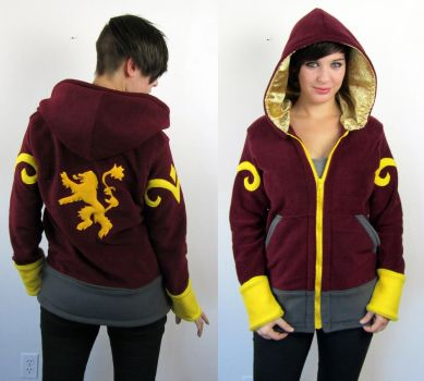 Lannister Hoodie by Lisa-Lou-Who