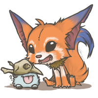 Gnar play with Poro by Bounce-W-T