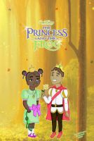 Little Tiana and Little Naveen by Midnight--Rainbow
