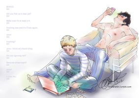 SherlockBBC: Day Off by KrisKenshin