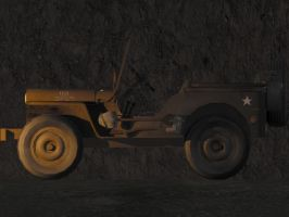 1944 jeep willy 3 by Ziddius