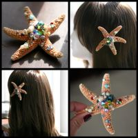 Rainbow Sea Star by TheRealLittleMermaid
