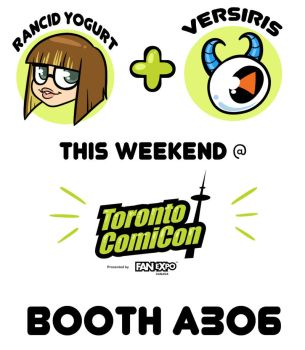 Visit Us at Toronto Comicon! by zombielily