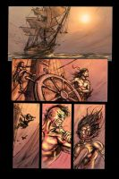 Dust page 1 colors by dfbovey