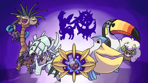 Some Pokemon Sun Art