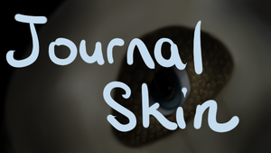 Cubone Journal Skin by QuietCrystal