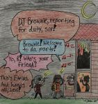 Brownie and Etrius: HALLOWEEN MINI-CONTEST ENTRY by teambrownie1