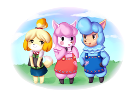New Leaf Pals by chunkybutt