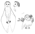Nyra Concept Doodles by Earldense