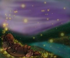 Among Our Bed of Fireflies by Necomantic