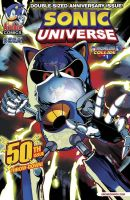 Sonic Universe #50 (The Real One) by RocketSonic