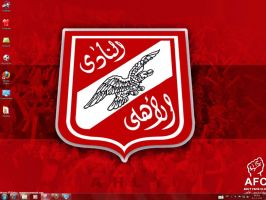 Ahly Windows 7 Theme by yonited