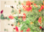 {Pretty Decorations - Brushes} by Poqi