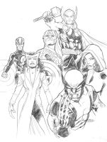 The Uncanny Avengers by guinnessyde