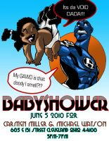 Baby Shower Invite by 5000WATTS