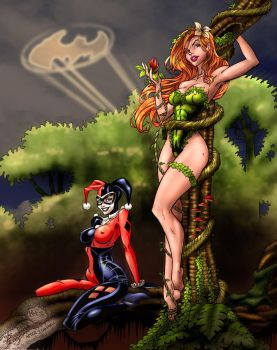 Harley and Ivy by nahp75