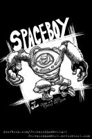 Spaceboy -June '12 Daily Art Jam- Day 23 by JeremiahLambertArt