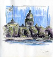 A view on  St. Isaac's by OlwenArt
