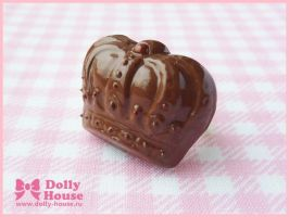 Royal Chocolate Ring by Dolly House by SweetDollyHouse