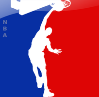 NBA logo 3 by Radyb