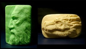 Sculpted Soaps by JW-Jeong