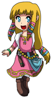 Little Zelda by SoyFumi