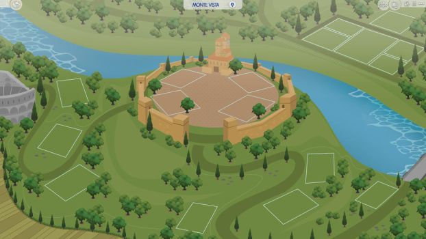 (Sims 4 Fanmade Map) Monte Vista by filipesims