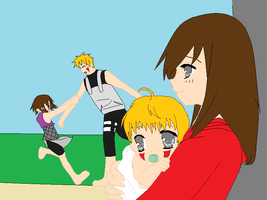 Outside family Fun: Inuzuka by pandapunk143