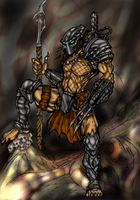 Predator Colored by JosephButler