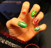 Zelda Nails by MoPotter