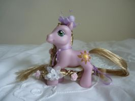 custom mlp tangled disney rapunzel 2 by thebluemaiden