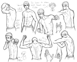 Half half naked men by lucy12143