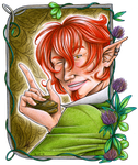 HM: The Green Trickster by Ra-Punzelle
